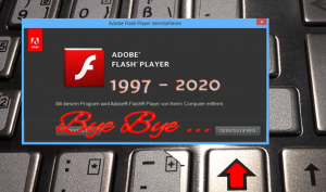Adobe Flash Player – Time To Say Good Bye