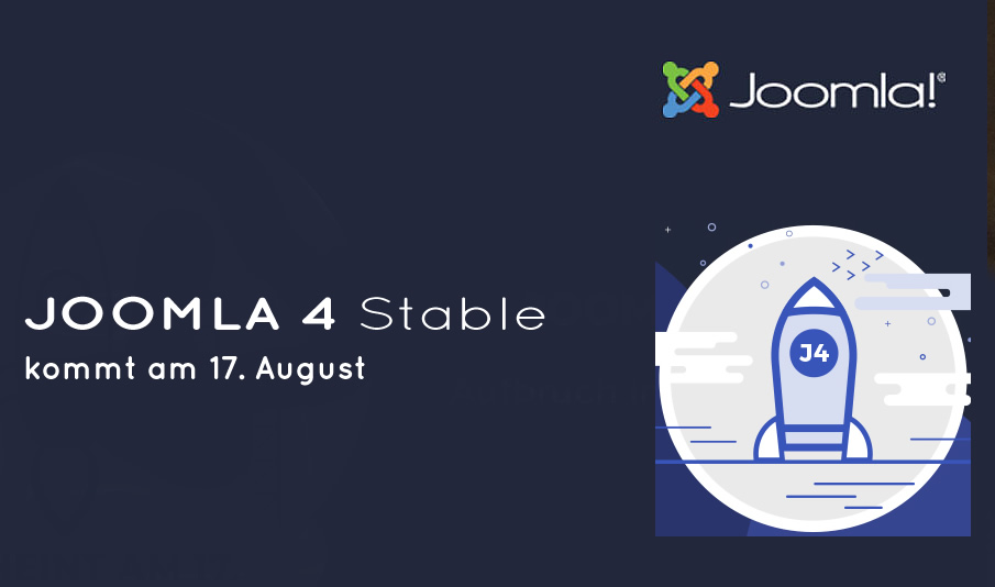 You are currently viewing Joomla! 4 kommt – der Termin steht